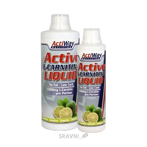 Фото ActiWay Nutrition Active L-Carnitine Liquid 1000 ml