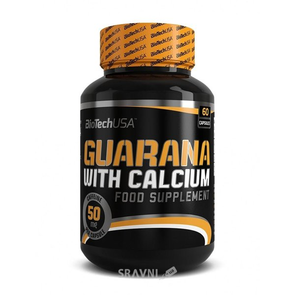 Фото BioTech Guarana with Calcium 60 caps