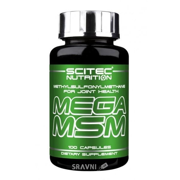 Фото Scitec Nutrition Mega MSM 100 caps