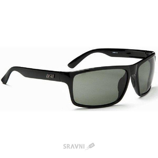 Фото Optic Nerve Drago Polarized Smoke Shiny Black (921076)