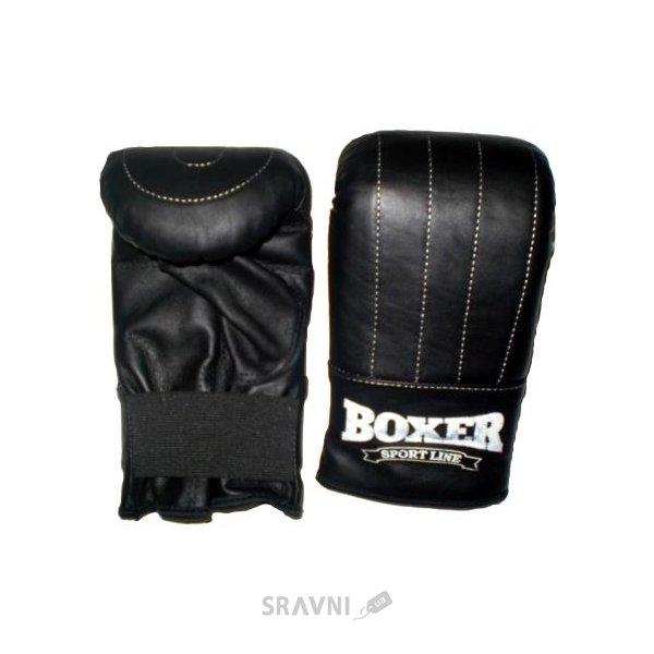 Фото Boxer Перчатки Тренировочные, кожа