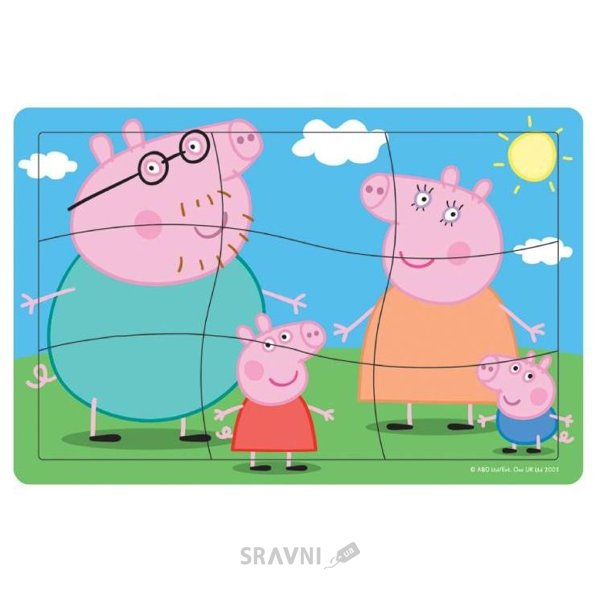 Фото Peppa Pig «Первый пазл Пеппы» (24456)