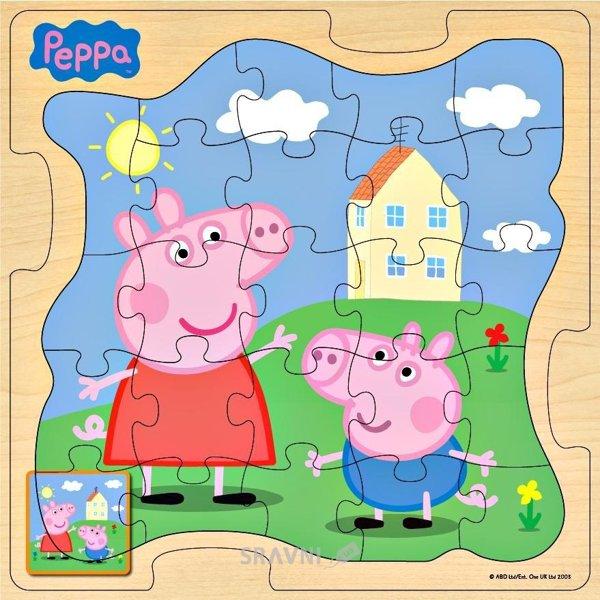 Фото Peppa Pig «Пеппа и Джордж на прогулке» (25125)