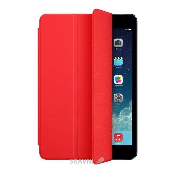 Фото Apple Smart Cover iPad mini - Red (MF394)