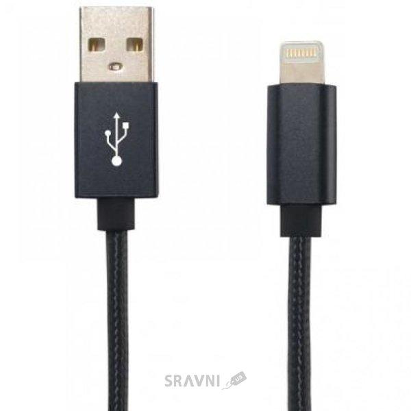 Фото Gelius Metallic Edition USB 2.0 – Lightning (iPhone 5) Black (36536)