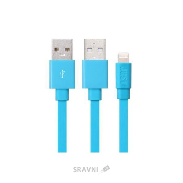 Фото JUST Freedom Lighting USB Cable Blue (LGTNG-FRDM-BL)