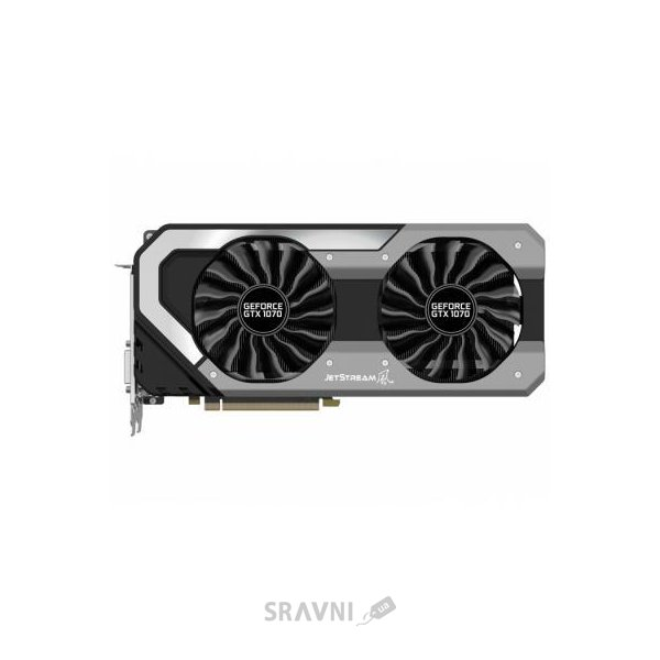 Фото Palit GeForce GTX 1070 JetStream 8Gb (NE51070015P2-1041J)