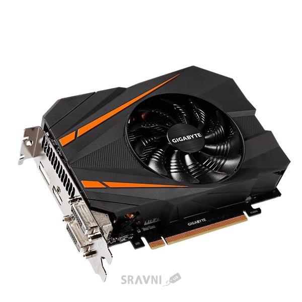 Фото Gigabyte GeForce GTX 1070 Mini ITX OC 8Gb (GV-N1070IXOC-8GD)