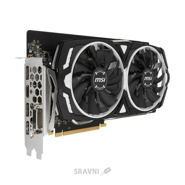 Фото MSI GeForce GTX 1060 ARMOR 6G OC