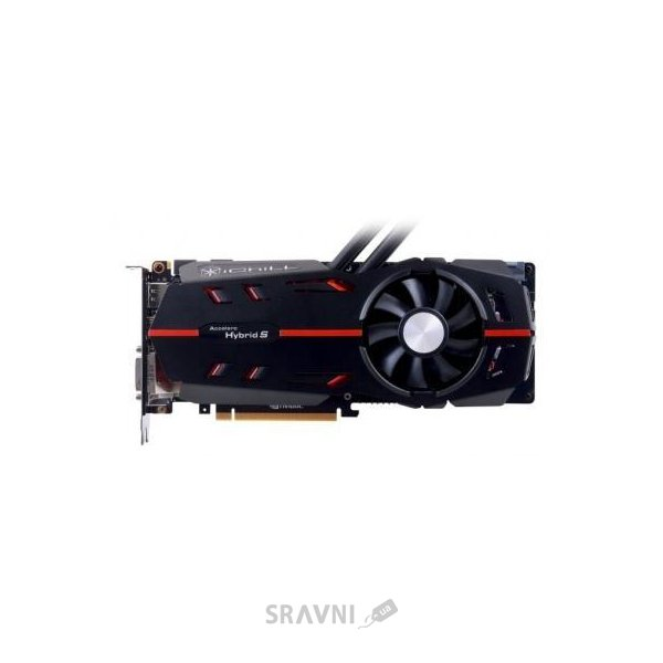 Фото Inno3D GeForce GTX 1080 Hybrid S Black 8Gb (C108B-3SDN-P6DNX)