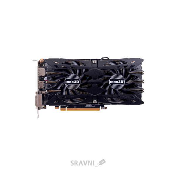 Фото Inno3D GeForce GTX 1060 HerculeZ Twin X2 6Gb (N106F-2SDN-N5GS)