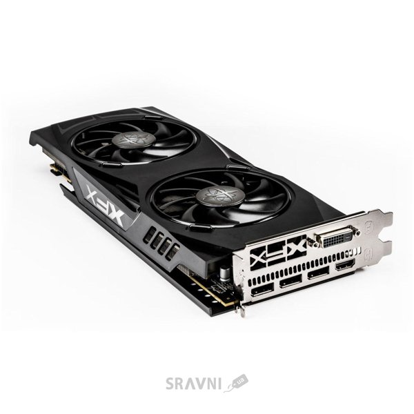 Фото XFX Radeon RX 480 GTR 8GB with Hard Swap Black Edition (RX-480P8DBA6)