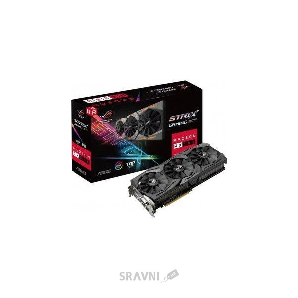 Фото ASUS Radeon RX 580 STRIX GAMING OC 8Gb (ROG-STRIX-RX580-T8G-GAMING)