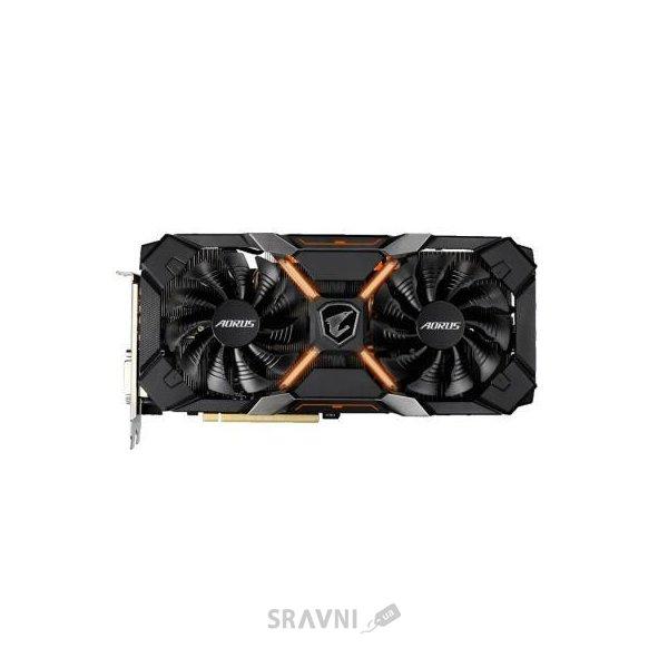 Фото Gigabyte Radeon RX 580 XTR 8Gb AORUS (GV-RX580XTRAORUS-8GD)