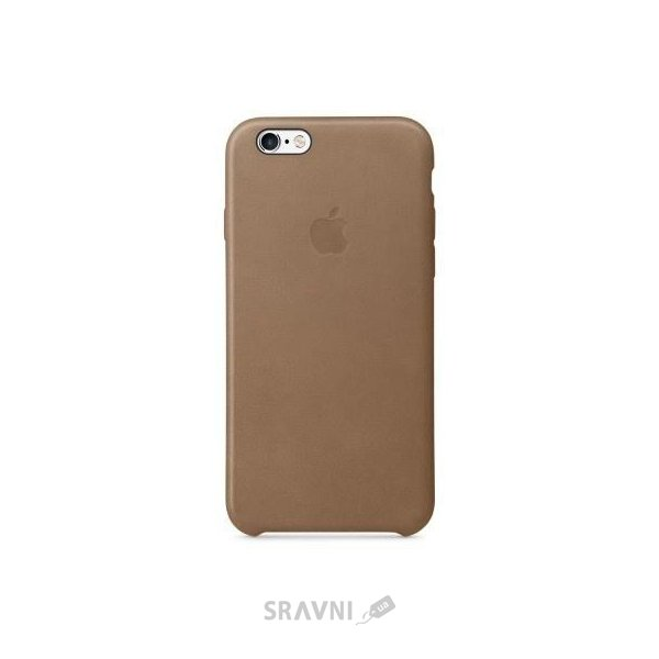 Фото Apple iPhone 6s Leather Case - Brown (MKXR2)