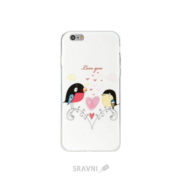 Фото Avatti Mela Pattern TPU case iPhone 6/6S (z11106)