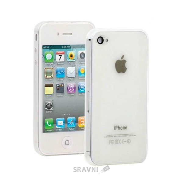 Фото Celebrity TPU case for iPhone 4, iPhone 4S White