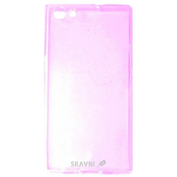 Фото Doogee TPU Ultra Thin Doogee Y300, Y300 Pro Transparent Pink