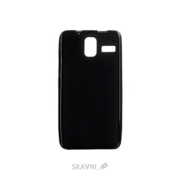 Фото Drobak Elastic PU Lenovo S580 (Black) (216754)