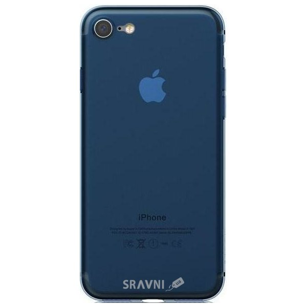 Фото Mooke TPU Frost Series iPhone 7 Clear-Blue