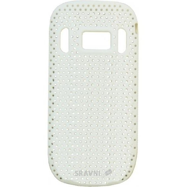 Фото EasyLink Perforated mesh case Nokia C7 white