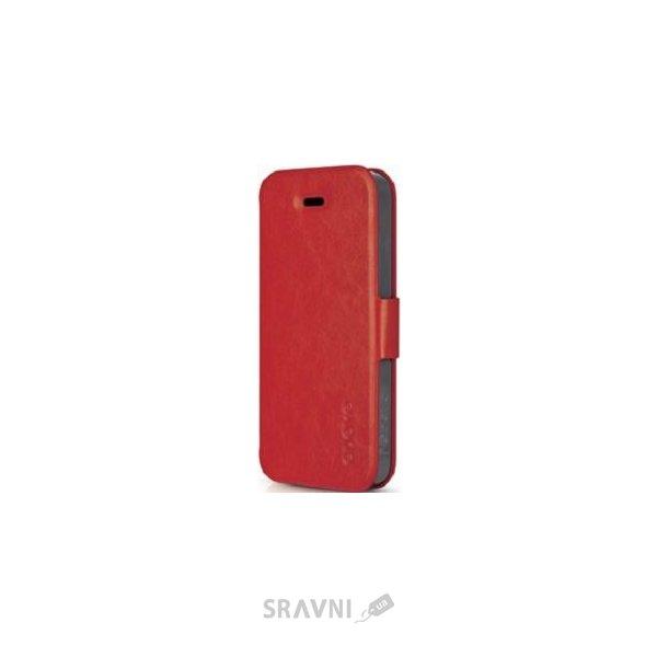 Фото Odoyo Cube folio iphone 5c rosy red (ph378rd)