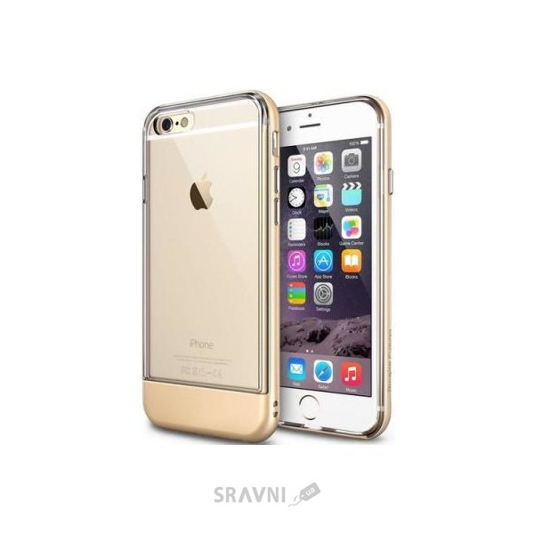 Фото Ringke Fusion Frame for iPhone 6/6S Royal gold (RFAP021)