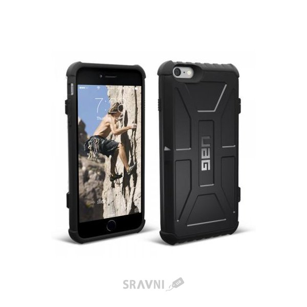 Фото Urban Armor Gear iPhone 6/6S Plus Card Case Black (IPH6/6SPL-N-BLK)