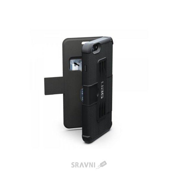 Фото Urban Armor Gear iPhone 6/6S Plus Scout Black (IPH6/6SPLS-BLK-VP)
