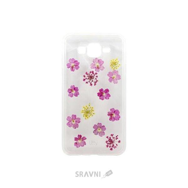Фото Utty TPU Flower Samsung J7 Pink Flowers