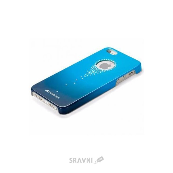 Фото X-Fitted Star Falls with Swarovski для iPhone 5/5S Blue (SZ06L)