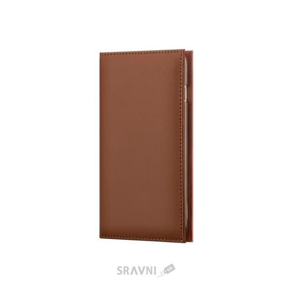 Фото X-Fitted Wallet Case для iPhone 6/6s Brown (P6QBB)