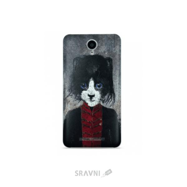 Фото Xiaomi Primary Protective Case for RedMi Note 2 Cartoon 3D cat (1154800036)