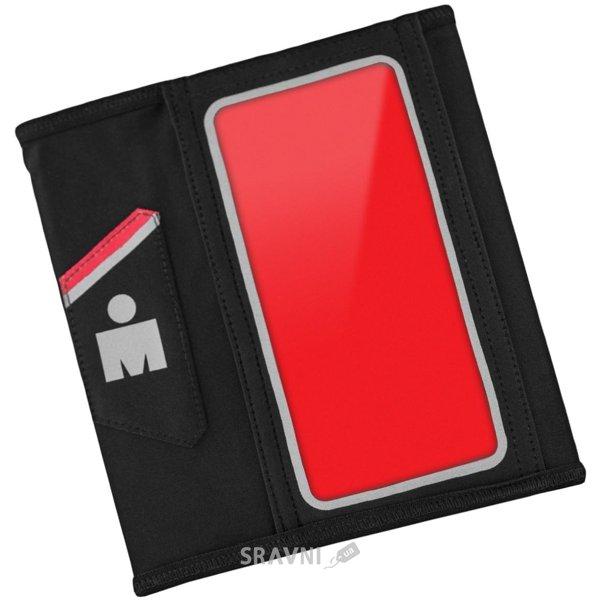 Фото Yurbuds Ergosport Armband iPhone 5 Black/Red (YBIMARMB01BNR)