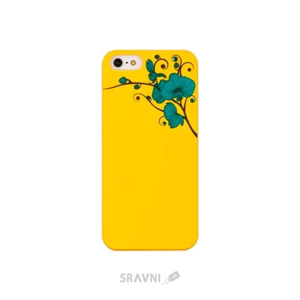 Фото Bling My Thing ORCHID / Yellow with Turquoise for iPhone 5/5S (BMT-AI5-OD-YL-BLZ)