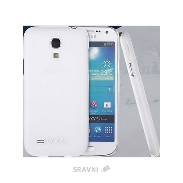 Фото Yoobao Crystal Protect case for Galaxy S IV Mini (PCSAMI9190-CWT)