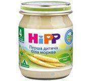 Фото Hipp Пюре Первая детская белая морковь 125 г