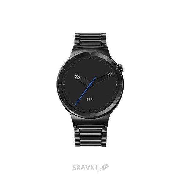 Фото Huawei Watch (Black Stainless Steel with Black Stainless Steel Link Band)