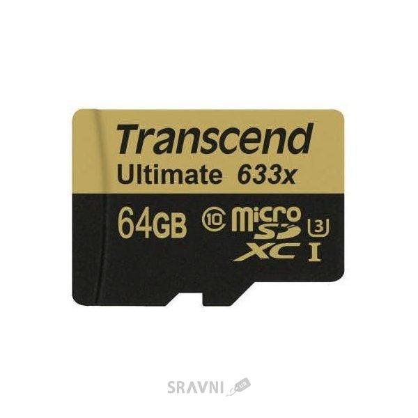 Фото Transcend TS64GUSDU3