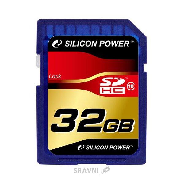 Фото Silicon Power SP032GBSDH010V10