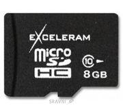 Фото Exceleram microSDHC class 10 8Gb (MSD0810)
