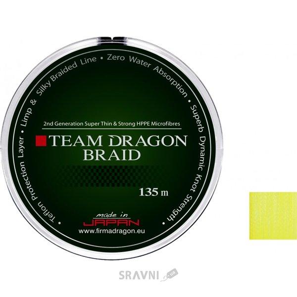 Фото Dragon Team Braid Yellow (0.08mm 135m 6.00kg)