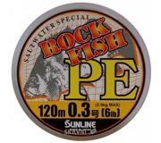 Фото Sunline RockFish PE  (0.09mm 120m 2.9kg)