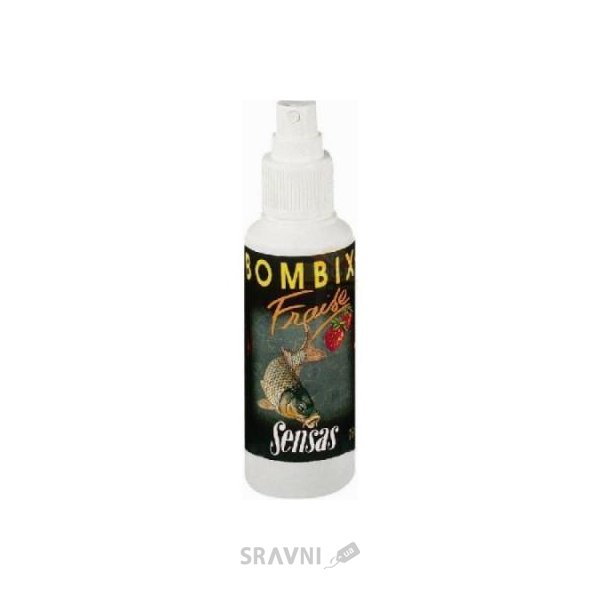 Фото Sensas Спрей Bombix Strawberry 75ml
