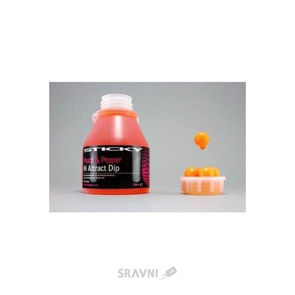 Фото Sticky Baits Аттрактант Peach & Pepper Liquid 250ml