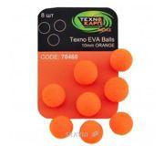 Фото ТехноКарп Искус. приманка Texno EVA Balls / orange / 10mm / 8pcs