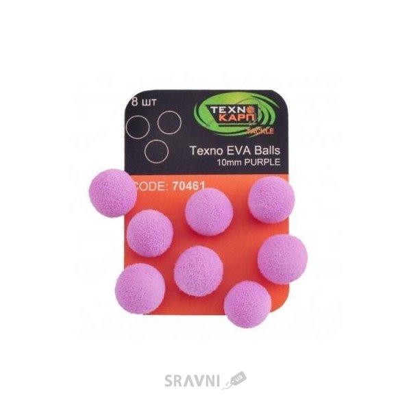 Фото ТехноКарп Искус. приманка Texno EVA Balls / purple / 10mm / 8pcs