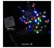 Фото Delux String C200 LED 10m мульти/черный IP20