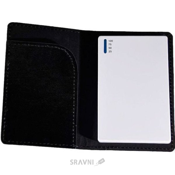 Фото EasyLink Power Bank with leather case 1800 mAh white