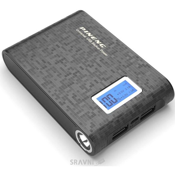 Фото PINENG PN-913 10000mAh Starlight Black